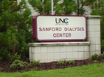 Carolina Dialysis - Sanford - sign