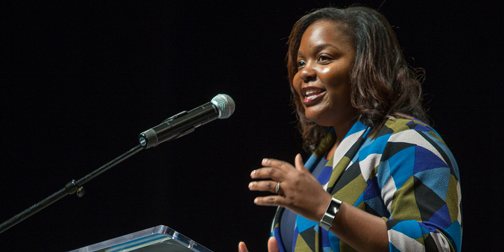 UNC School of Medicine Holds Annual White Coat Ceremony - Dr. Keisha Gibson Gives Keynote Address
