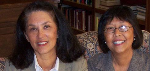 Marisa McLeod and Carmen Conry